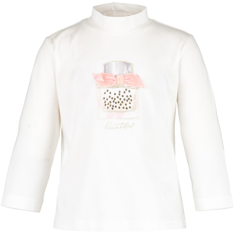 Afbeelding van Mayoral 2000 68 baby t-shirt off white