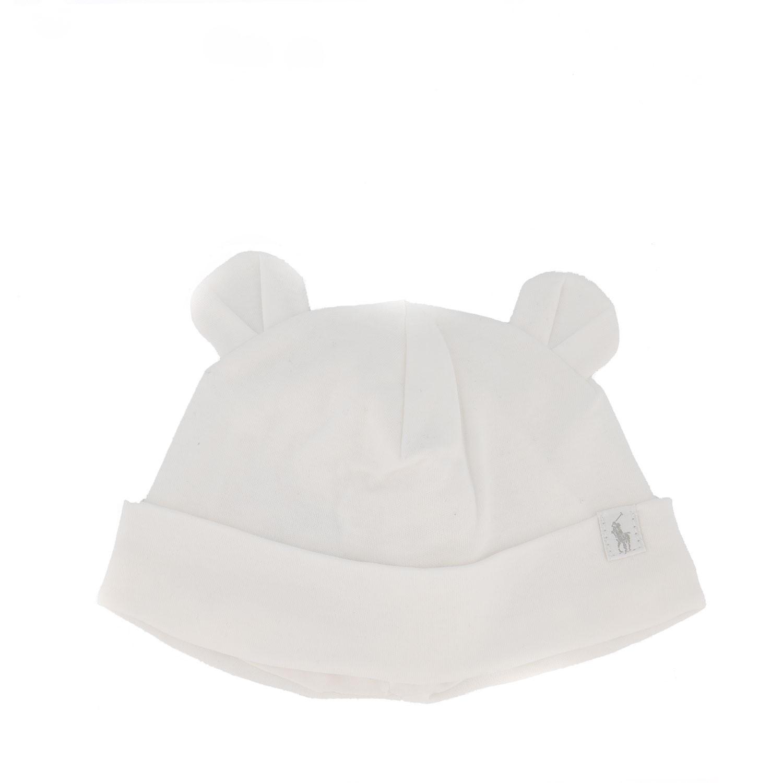 Afbeelding van Ralph Lauren 320701672 babymutsje wit