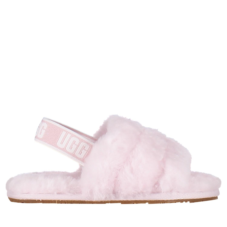 Afbeelding van Ugg 1098579T kindersloffen licht roze