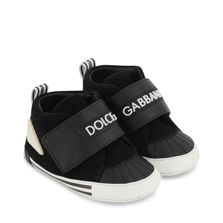 Afbeelding van Dolce & Gabbana DK0128 babyschoenen zwart
