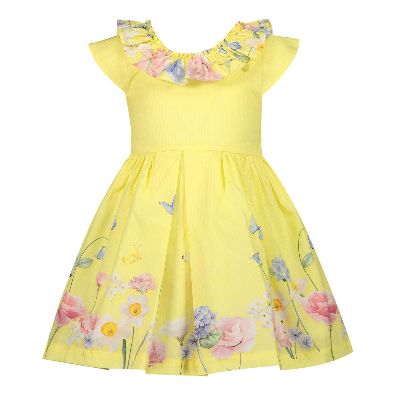 Afbeelding van Lapin 211E3284 babyjurkje geel