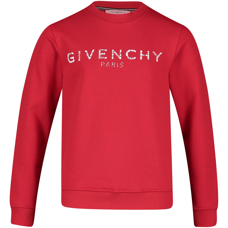 Afbeelding van Givenchy H25110 kindertrui rood
