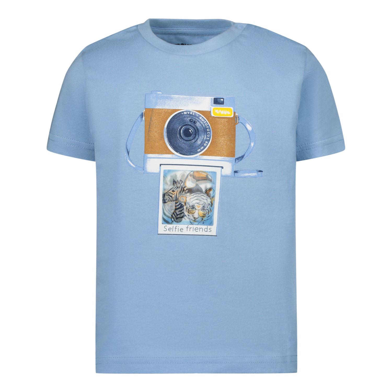 Afbeelding van Mayoral 1003 baby t-shirt licht blauw