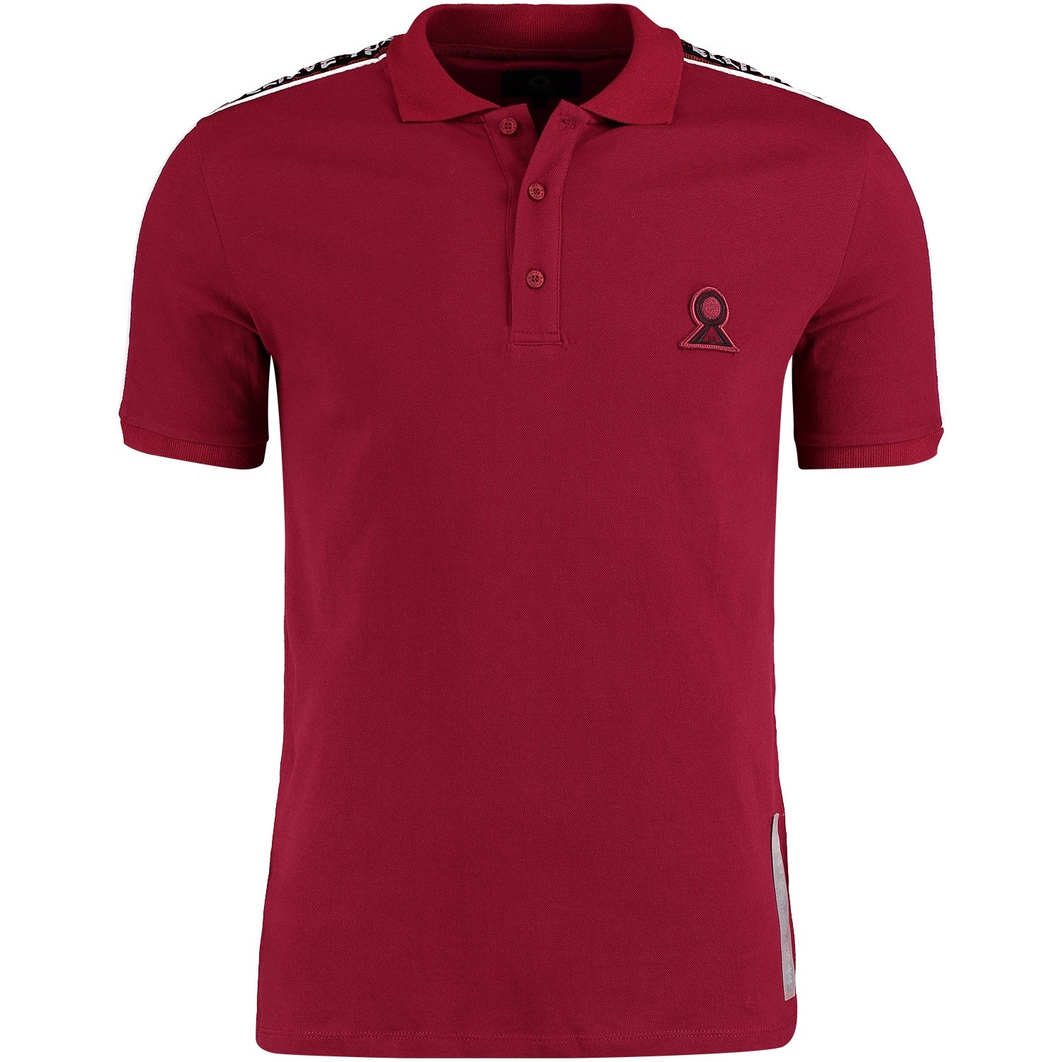 Afbeelding van Believe That BLVTPO180602 heren polo bordeaux