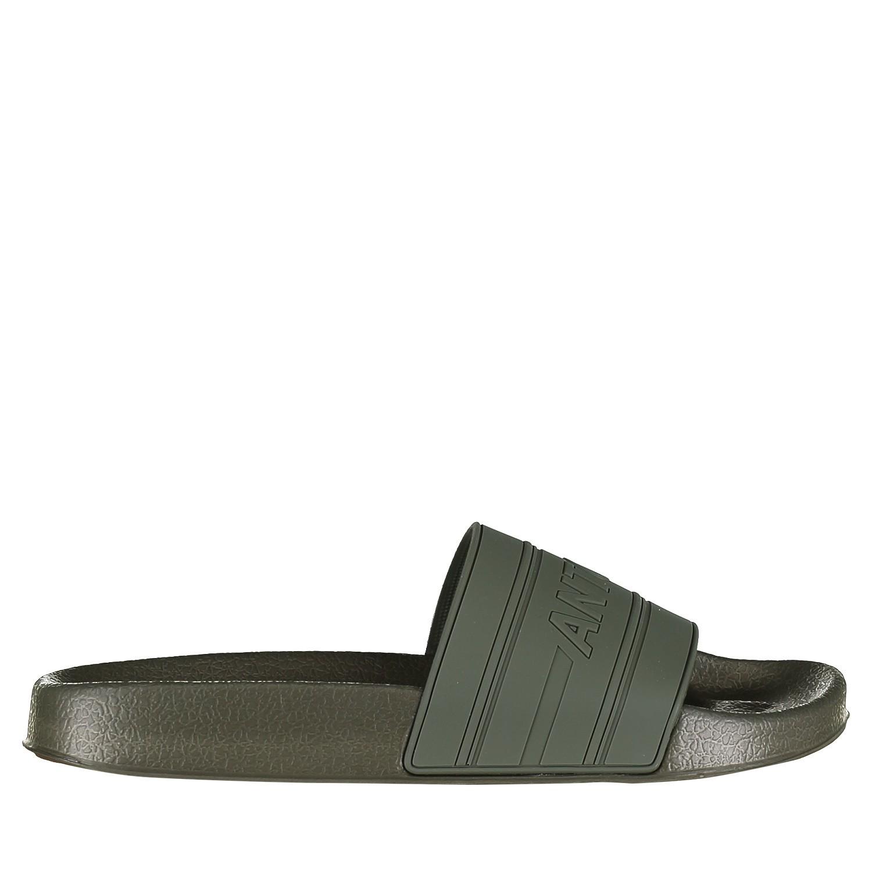 Afbeelding van Antony Morato MMFW01098 heren slippers army