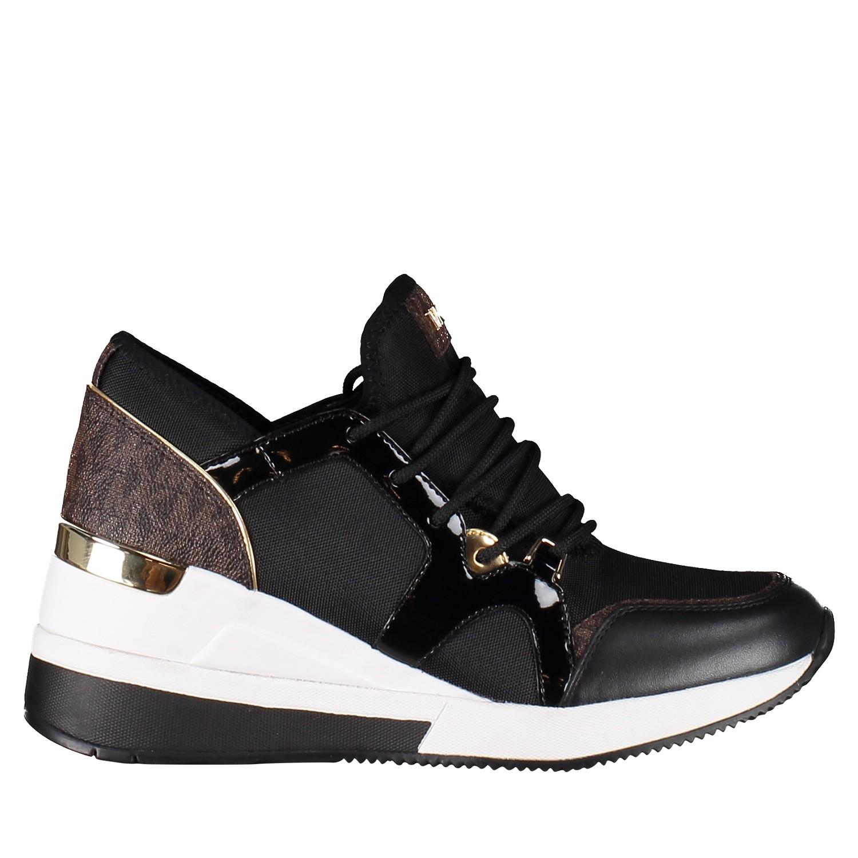 Afbeelding van Michael Kors 43F8SCFS3D dames sneakers zwart