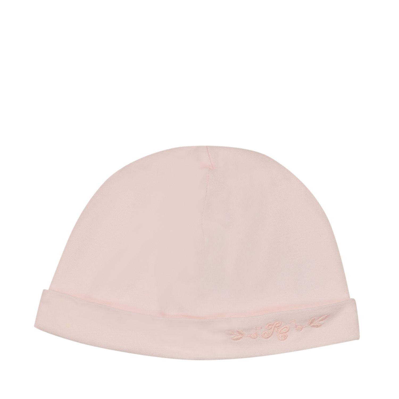 Afbeelding van Tartine et Chocolat TS90121 babymutsje licht roze