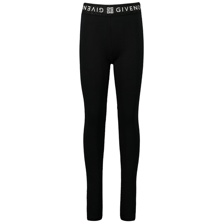 Afbeelding van Givenchy H14064 kinder legging zwart