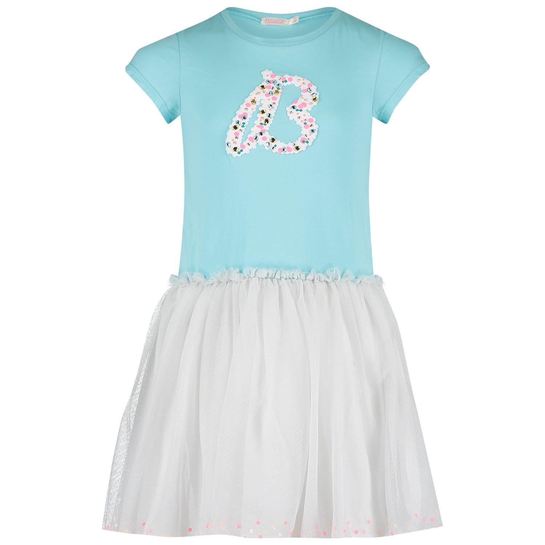 668a7561055 Afbeelding van BillieBlush U12466 kinderjurk turquoise