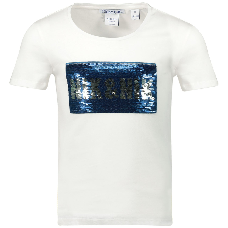 Afbeelding van NIK&NIK G8083 kinder t-shirt off white