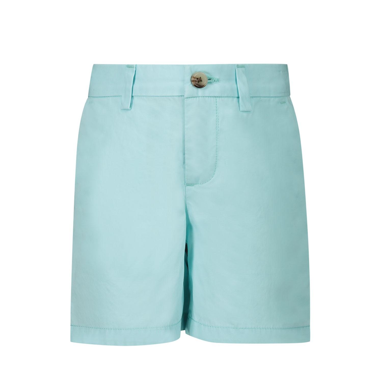 Afbeelding van Ralph Lauren 320760262 baby shorts turquoise