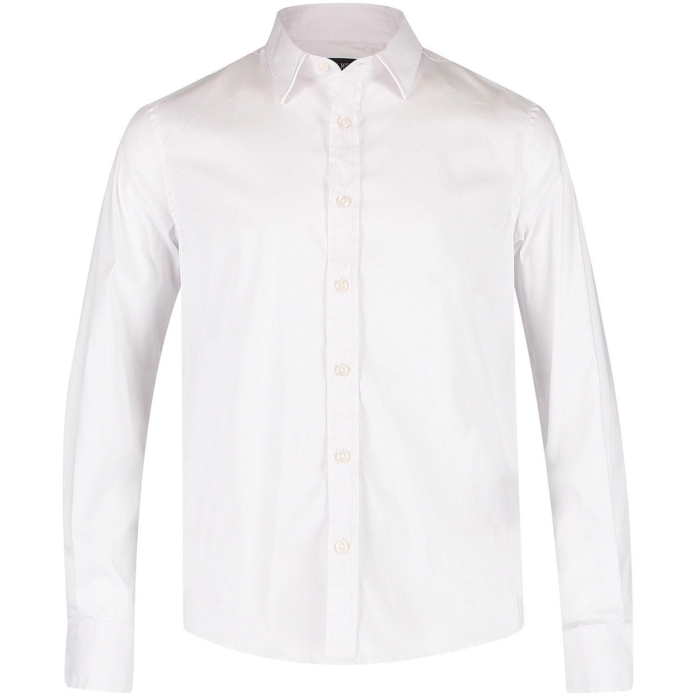 Afbeelding van Antony Morato MMSL00375 heren overhemd wit