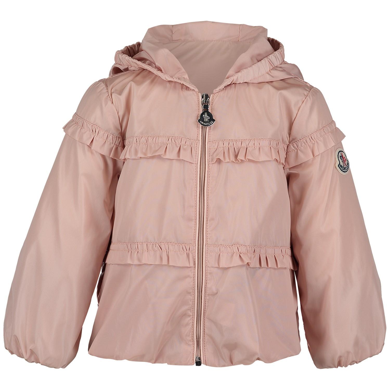 Afbeelding van Moncler 4610905 babyjas licht roze