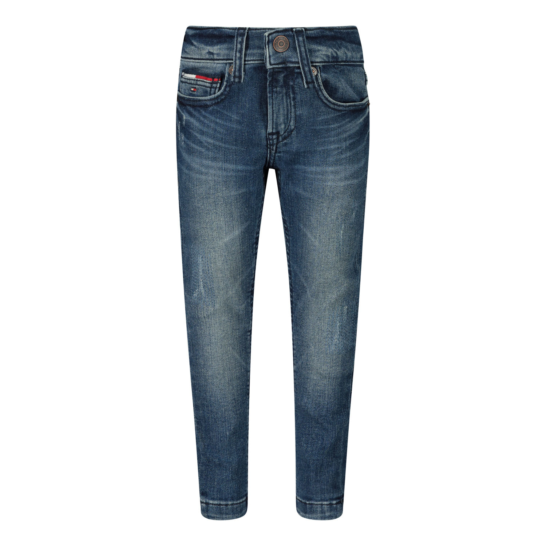 Afbeelding van Tommy Hilfiger KB0KB06047B babybroekje jeans