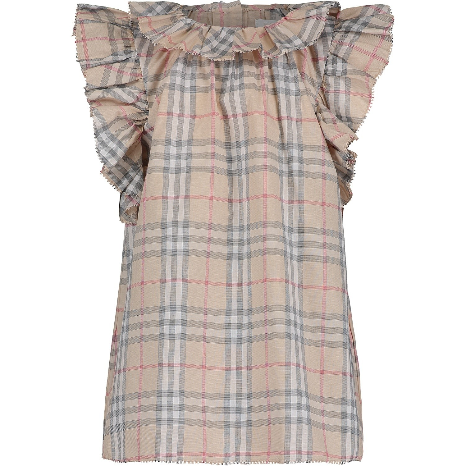 Picture of Burberry 8005338 baby dress light beige