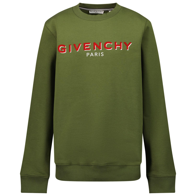 Afbeelding van Givenchy H25273 kindertrui army