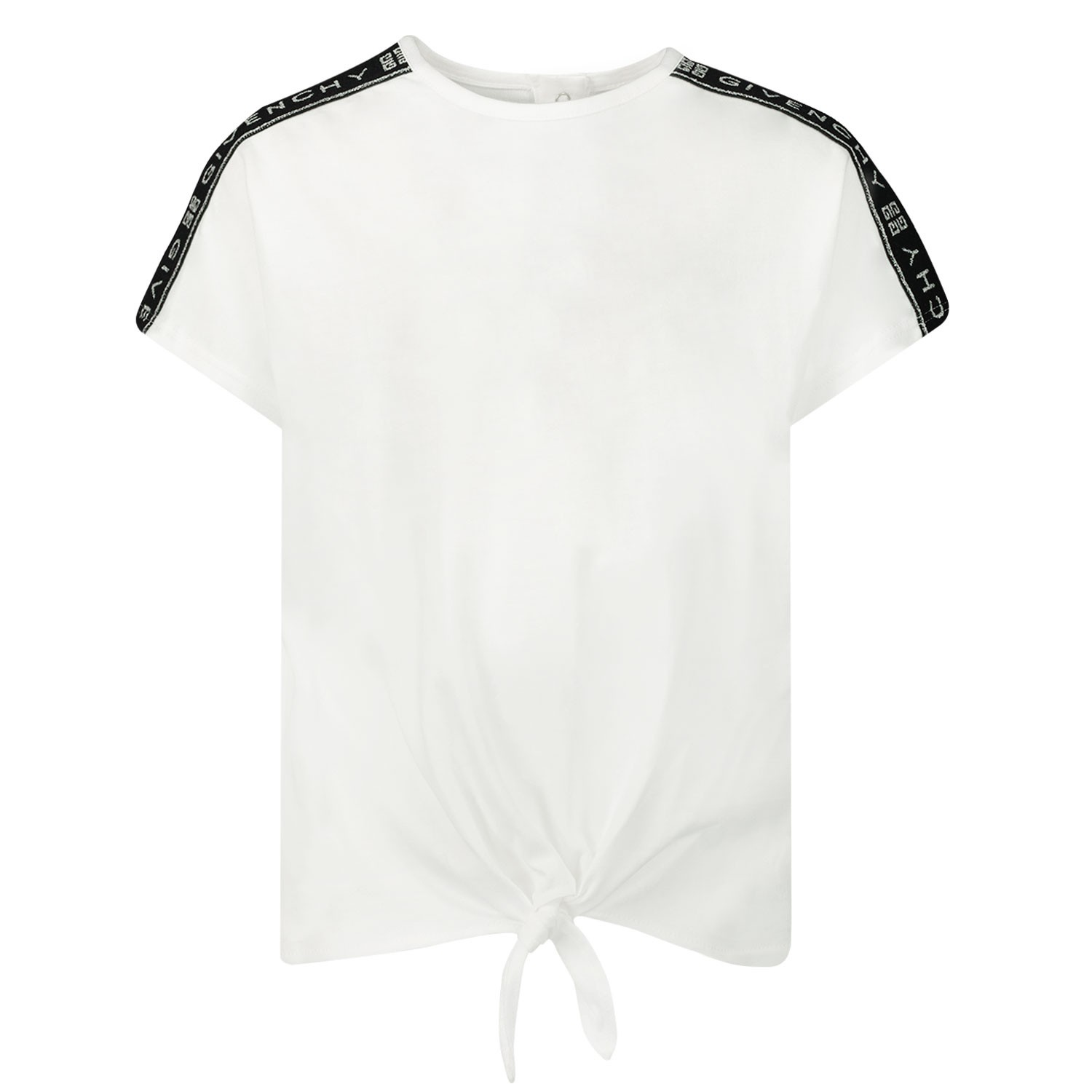 Afbeelding van Givenchy H05123 baby t-shirt wit