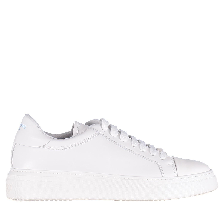 Picture of Iceberg IU116 mens sneakers white