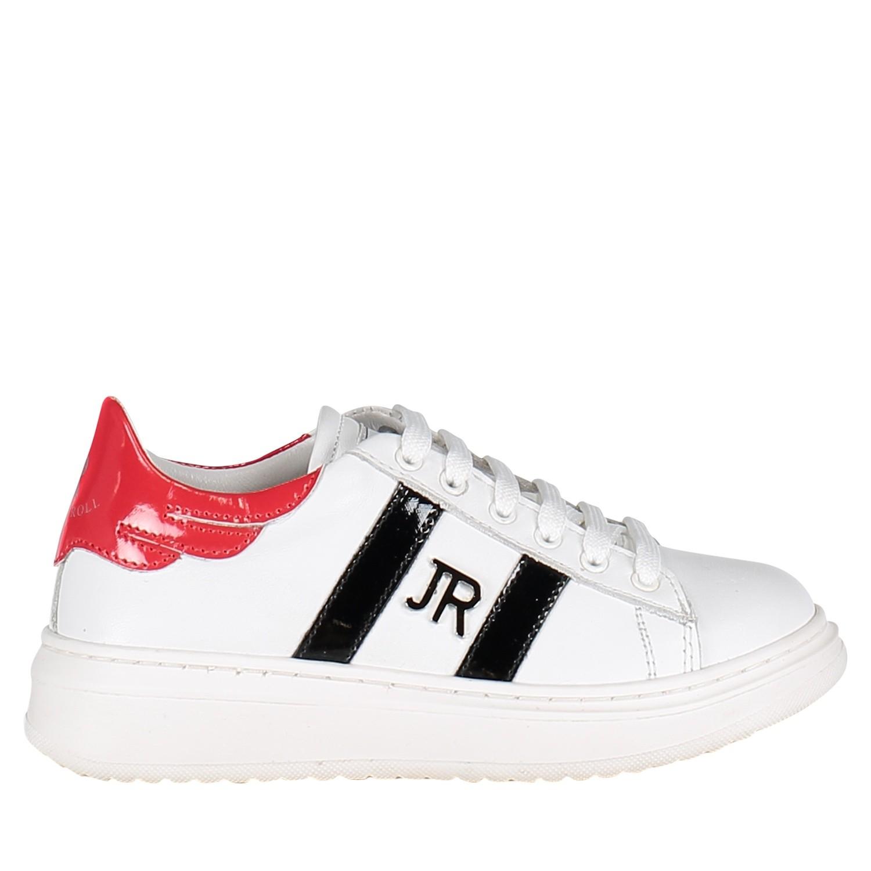 Afbeelding van John Richmond 5523STEVE kindersneakers wit