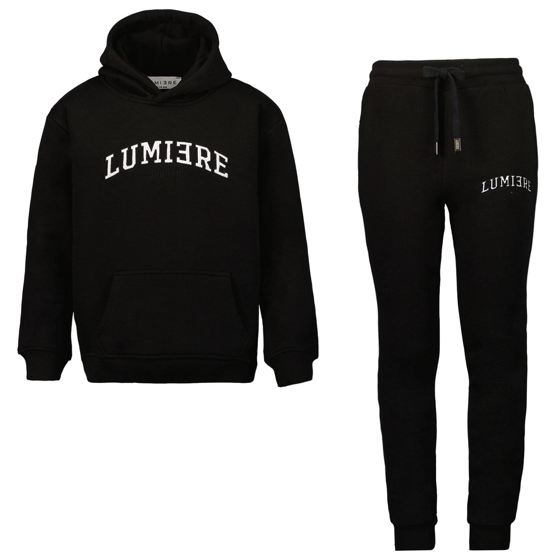 Afbeelding van Lumiere SPORTIF KIDS kinder joggingpak zwart