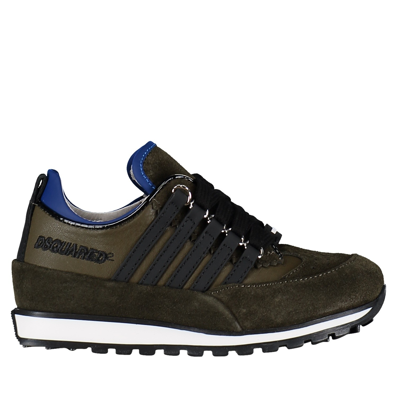 Picture of Dsquared2 57142 kids sneakers green