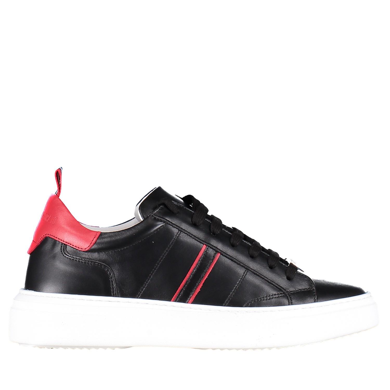 Afbeelding van Antony Morato MMFW01123 heren sneakers zwart