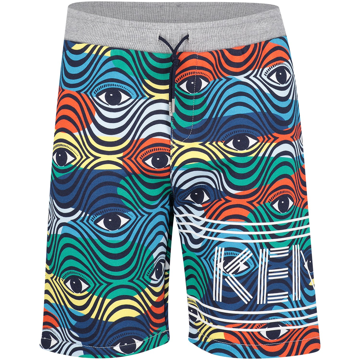 Picture of Kenzo KN25628 kids shorts blue