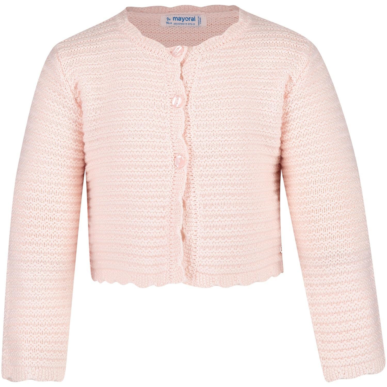 Afbeelding van Mayoral 2338 baby vest licht roze