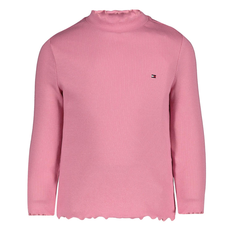 Afbeelding van Tommy Hilfiger KG0KG04725B baby t-shirt licht roze
