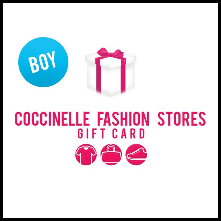 Afbeelding van Coccinelle Cadeaukaart CARD50 giftwrap boy