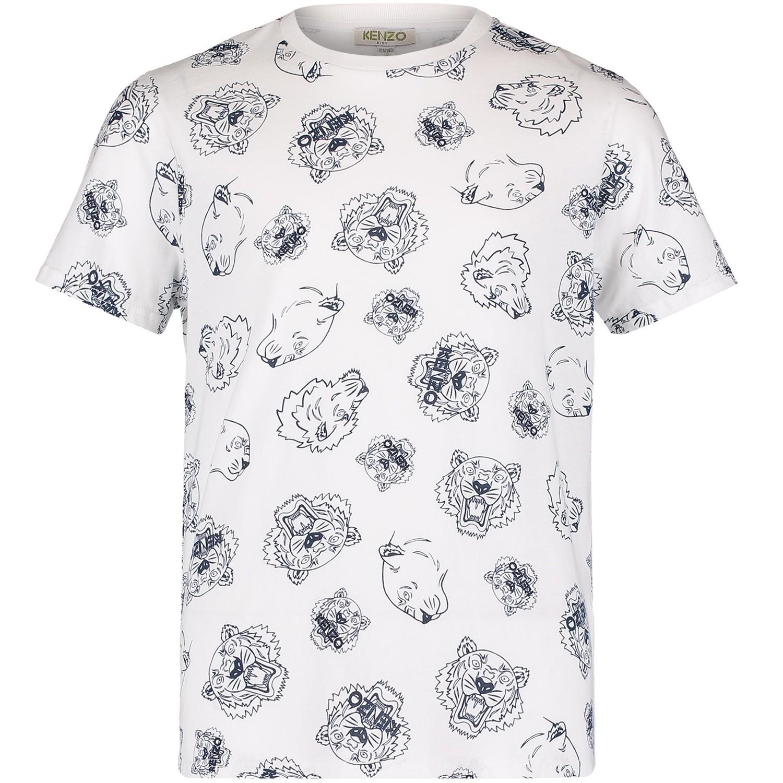 Afbeelding van Kenzo KM10568 kinder t-shirt wit