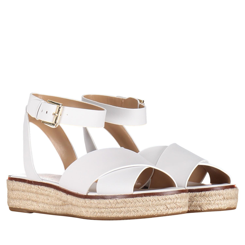 a48ba8f52b4 Michael Kors 40S9Abfa1L dames dames sandalen wit bij Coccinelle