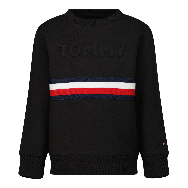Afbeelding van Tommy Hilfiger KB0KB06345 B baby trui zwart