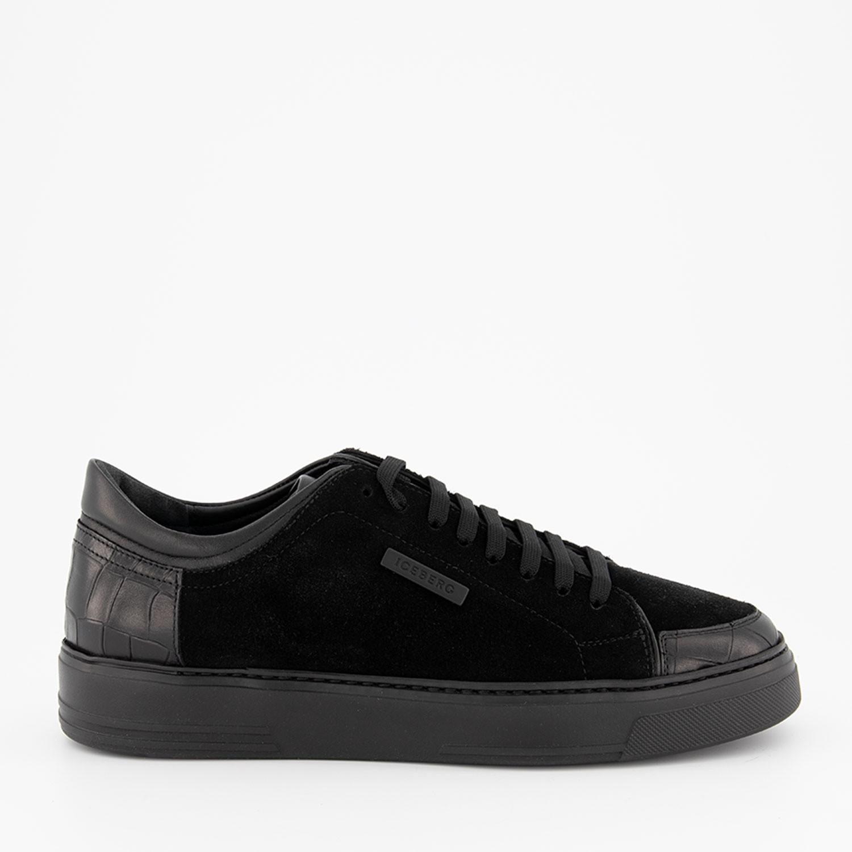 Afbeelding van Iceberg IU1231 heren sneakers zwart
