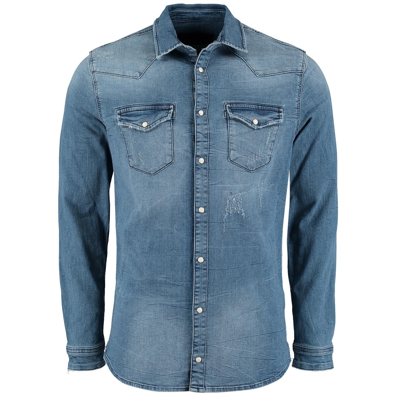 Jeans Overhemd Heren.Pure White 19010227 Heren Heren Overhemd Jeans Bij Coccinelle