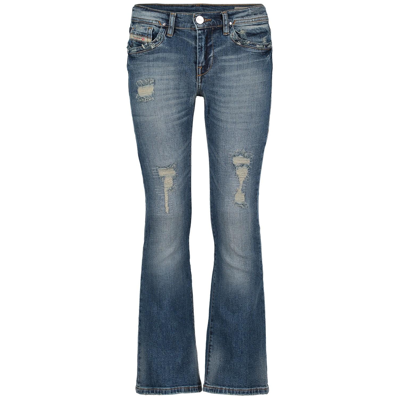 Afbeelding van Diesel 00J3S9 KXA92 kinderbroek jeans
