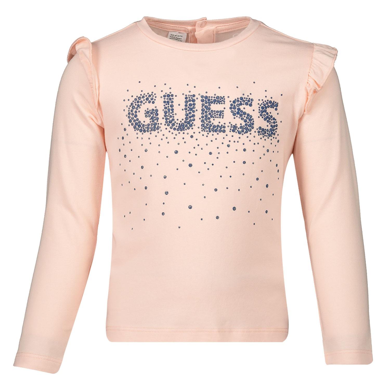 Afbeelding van Guess A93I06 baby t-shirt zalm