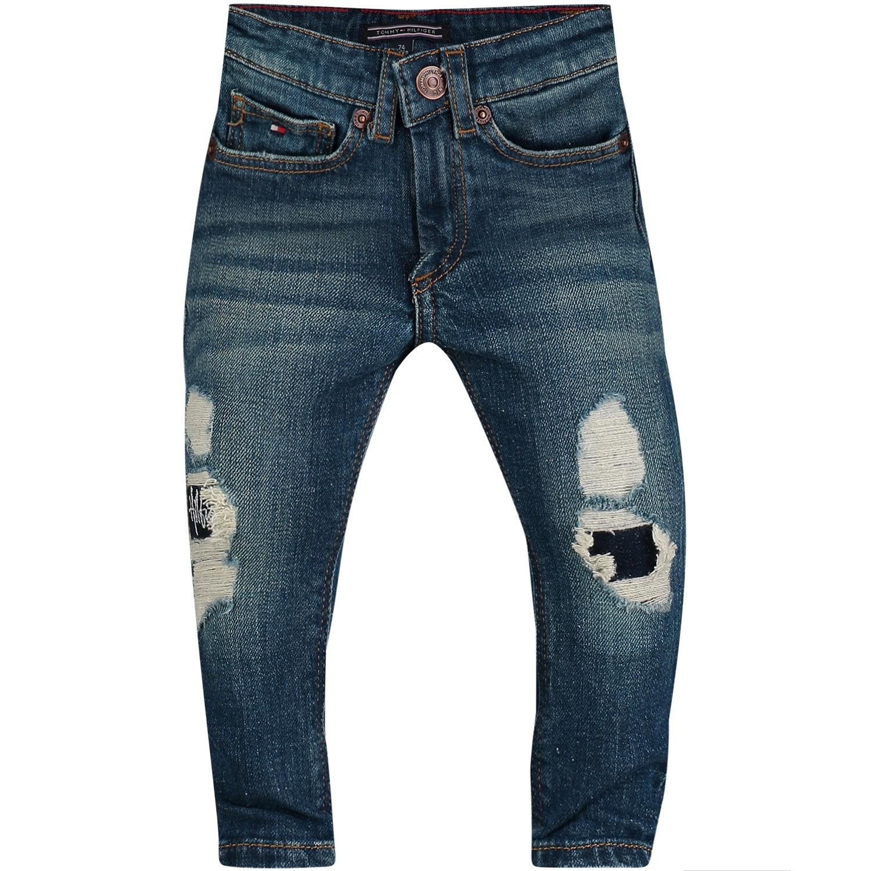 Afbeelding van Tommy Hilfiger KB0KB04062 B baby jeans jeans