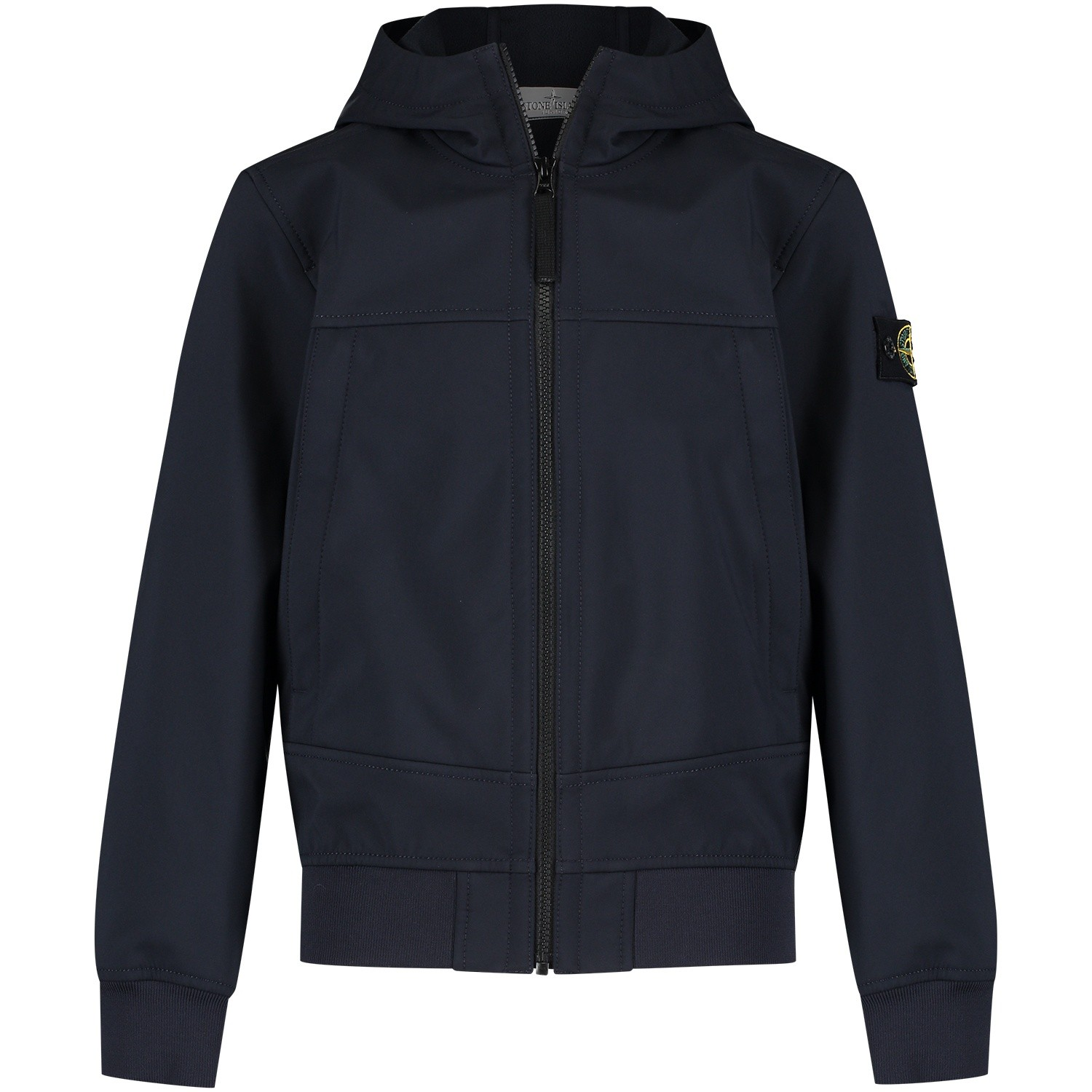 Picture of Stone Island 6916Q0130 kids jacket navy