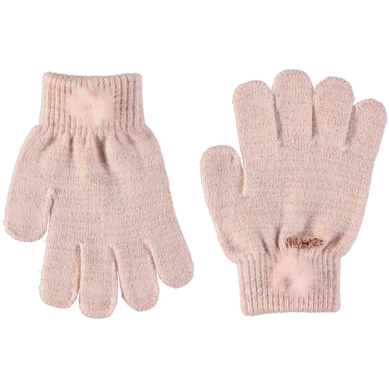 Afbeelding van Liu Jo K68122 kinder handschoenen oud roze