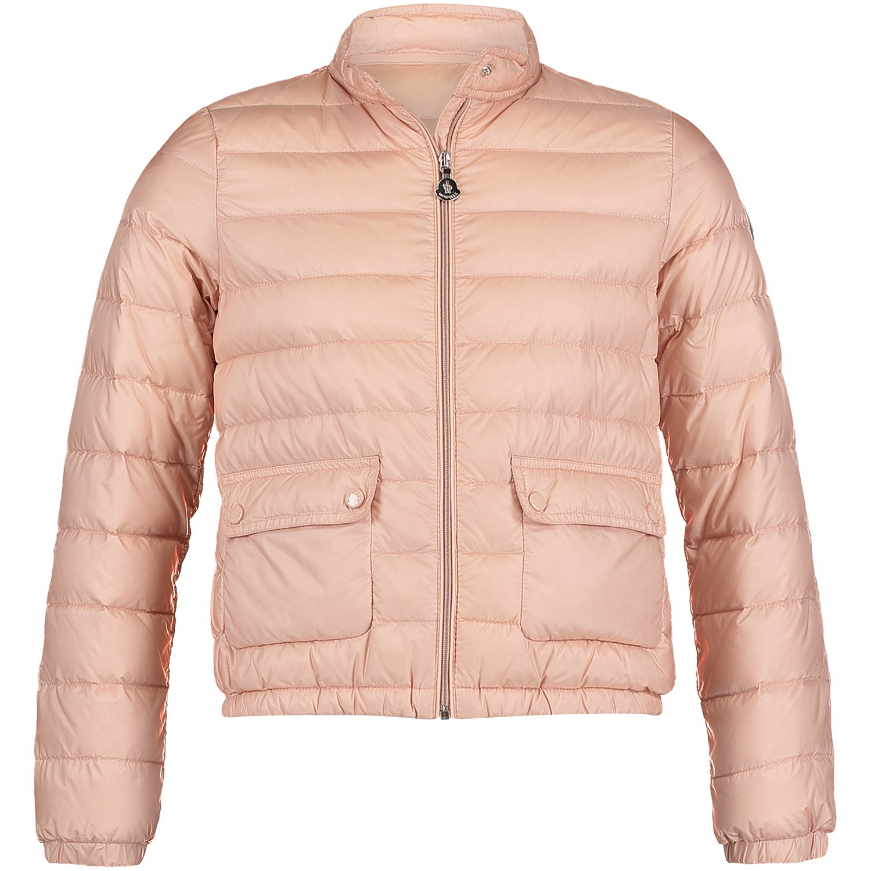 Afbeelding van Moncler 4681399 kinderjas licht roze
