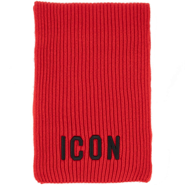 Afbeelding van Dsquared2 DQ03U5 baby sjaal rood