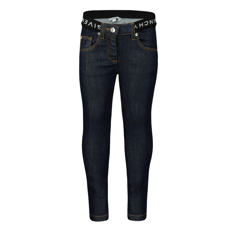 Afbeelding van Givenchy H04061 babybroekje jeans