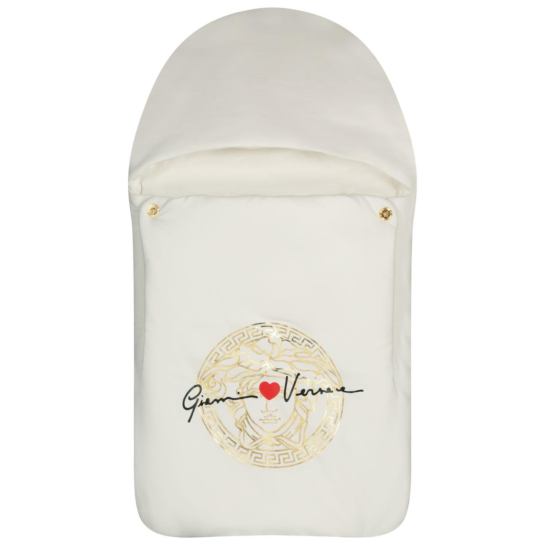 Afbeelding van Versace YE000146 babyaccessoire off white