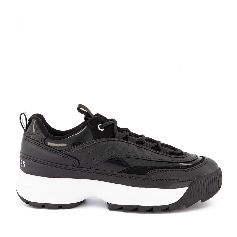 Guess FL8KAEELE12 dames sneakers zwart