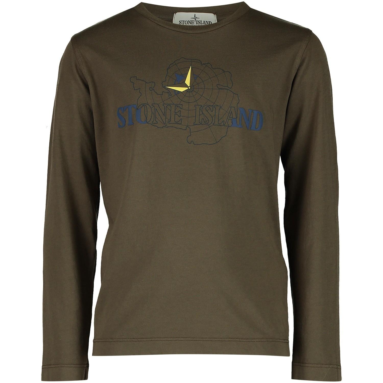 Afbeelding van Stone Island 691621152 kinder t-shirt army