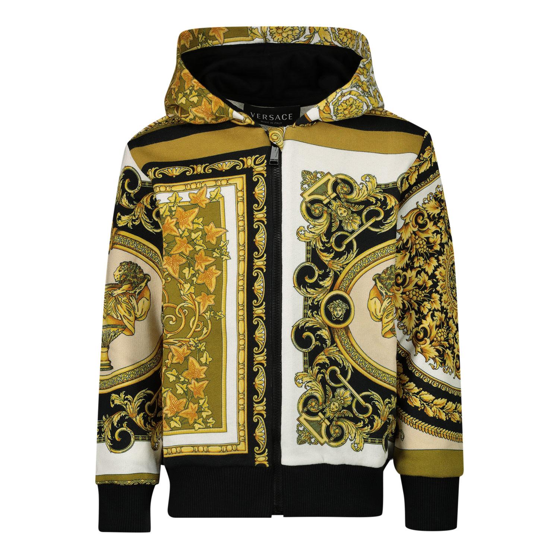 Afbeelding van Versace 1000335 baby vest wit/goud
