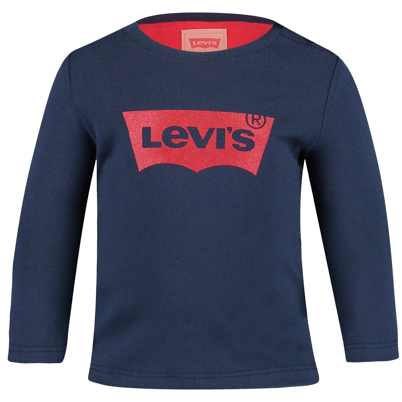 Afbeelding van Levi's NM10104 baby t-shirt navy