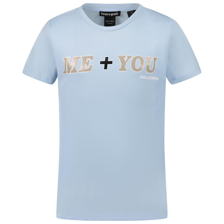 Afbeelding van NIK&NIK G8547 kinder t-shirt licht blauw