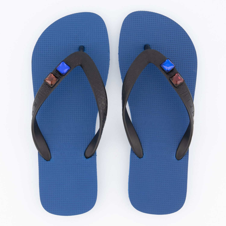 Afbeelding van UZURII DISCO DISPLAY dames slippers blauw